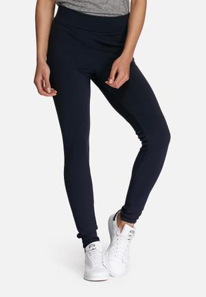 Dailyfriday Hi-waisted Leggings Trousers Navy