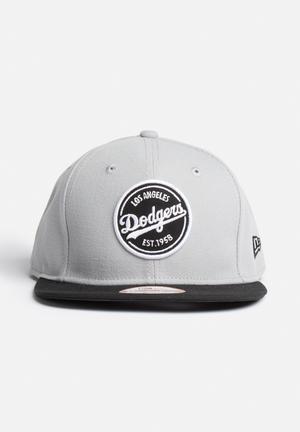 New Era 9 Fifty LA Dodgers Headwear Grey / Black