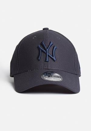 New Era 39 Thirty Diamond Era NY Headwear Navy