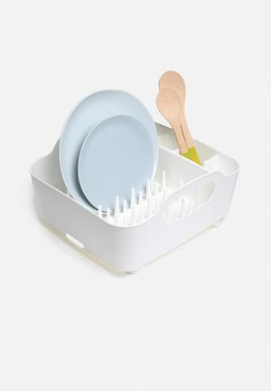 Umbra Tub Dish Rack Kitchen Accessories Plastic