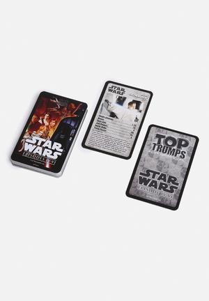 Top Trumps Top Trumps - Star Wars Episodes 4-6 Games & Puzzles