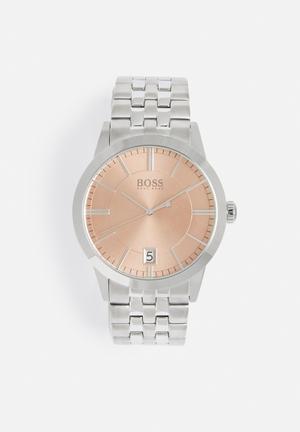 Hugo Boss Success Watches Silver