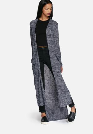 Dailyfriday Ricci Maxi Cardigan Knitwear Navy