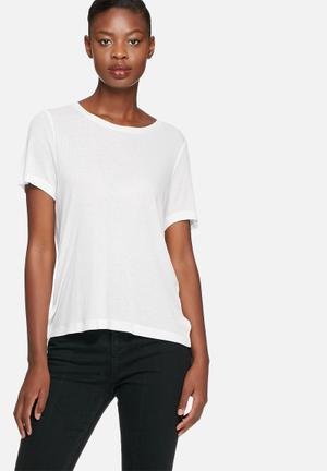 Noisy May Vali Top T-Shirts, Vests & Camis White