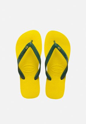 Havaianas Men's Brazil Sandals & Flip Flops Yellow