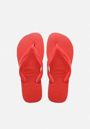 Havaianas Men's Top Sandals & Flip Flops Red
