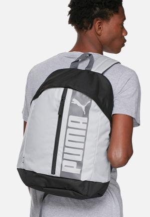 PUMA Pioneer II Bags & Wallets Charcoal / Mint