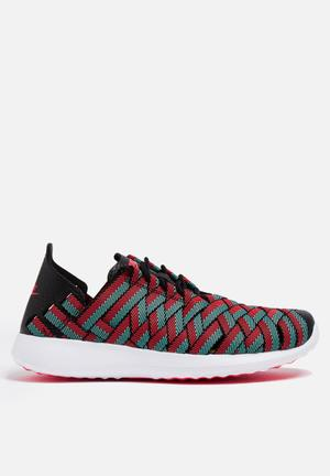 Nike Juvenate Woven Premium Sneakers Black / Bright Crimson / Turquoise