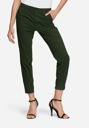 G-Star RAW Bronson Mid Skinny Chino Trousers Green