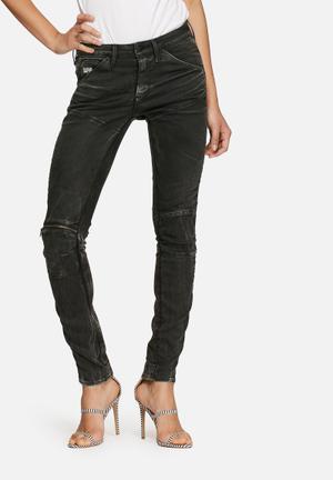 G-Star RAW 5620 Mid Skinny Jeans Black