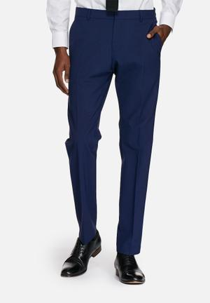 Selected Homme Don Slim Trouser Pants Blue