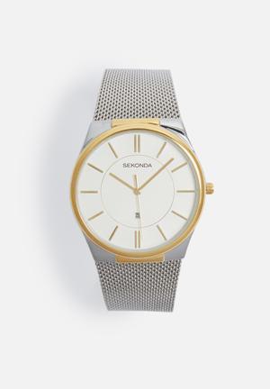 Sekonda Two-tone Mesh Watch Gold / Silver
