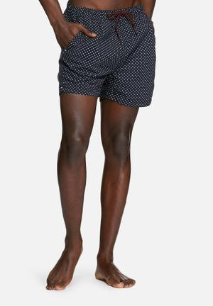 Selected Homme Classic Swim Shorts Swimwear Navy