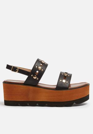 Footwork Ava Sandals & Flip Flops Black
