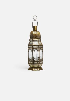 Sixth Floor Neva Moroccan Lantern Accessories Iron With Glass