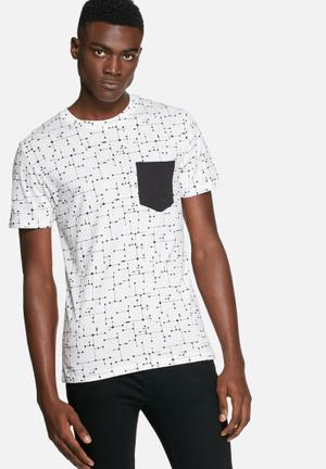 Only & Sons Kasey Tee T-Shirts & Vests White