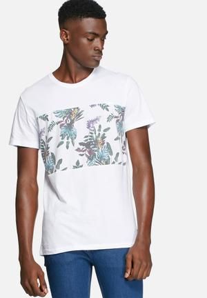 Only & Sons Laurent Tee T-Shirts & Vests White