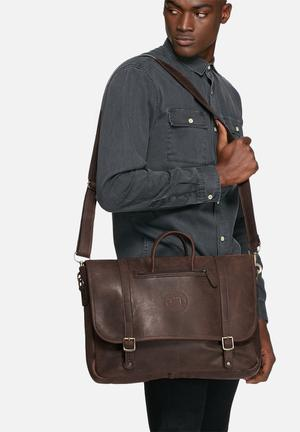 Freedom Of Movement The Russell Satchel Bags & Wallets Brown