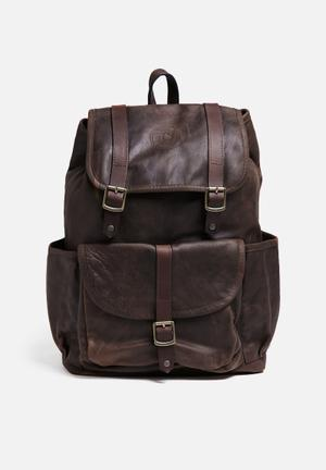 Freedom Of Movement The Bobby Backpack Bags & Wallets Brown