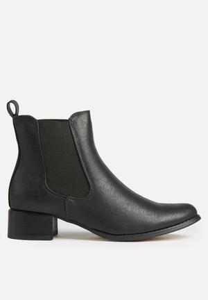 Therapy Grande Boots Black