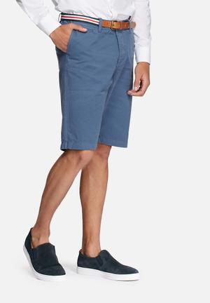 Jack & Jones Originals Lorenzo Belted Shorts Blue