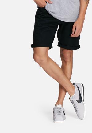 Jack & Jones Originals Rick Original Denim Shorts Black