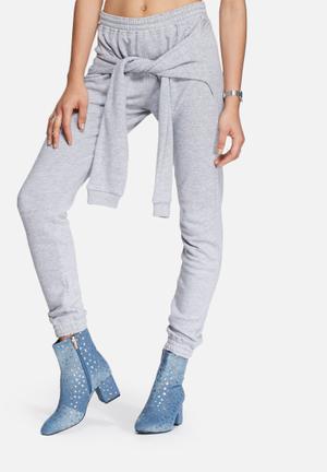 Daisy Street Jogger Bottoms Grey