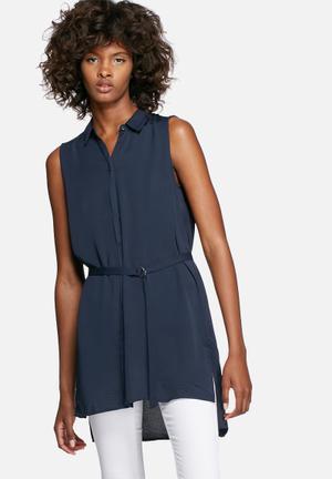 Vero Moda Sabrina Shirt Navy