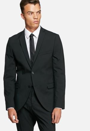 Selected Homme Logan Slim Blazer Jackets & Coats Black