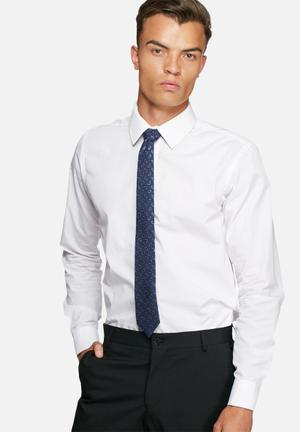 Jack & Jones Premium Milano Tie Ties & Bowties Navy