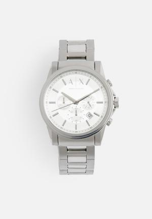 Armani Exchange Dress Watch Silver
