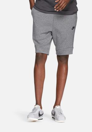 Nike Tech Fleece Shorts Grey