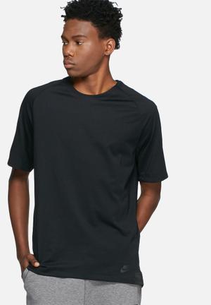 Nike Bonded Knit Tee T-Shirts Black