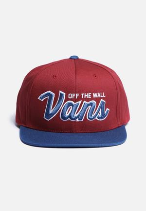 Vans Wilmington Snapback Headwear Red, Blue & WHite