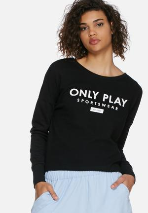 ONLY Play Asta Sweat Hoodies & Jackets Black