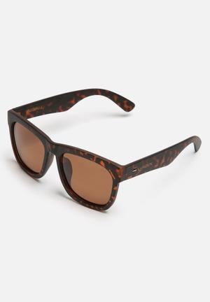 Lundun Dale Polarized Eyewear Brown Tortoise Shell