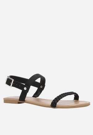 Call It Spring Gastili Sandals & Flip Flops Black