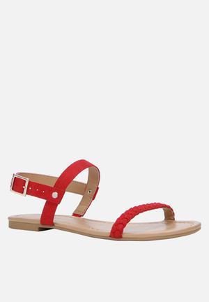 Call It Spring Gastili Sandals & Flip Flops Red