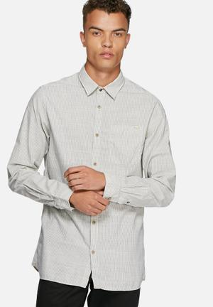 Jack & Jones Vintage Harrison Shirt White & Navy