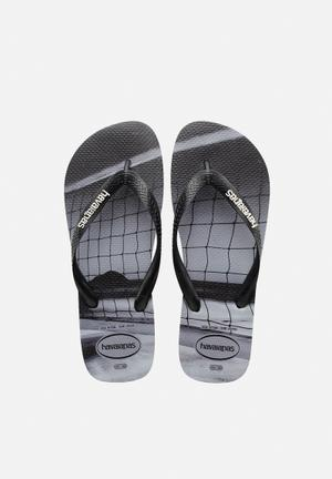Havaianas Hype Sandals & Flip Flops Grey / Black
