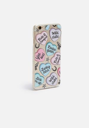 Skinnydip Lucky IPhone 6/6s Iphone Cover Pink / Blue