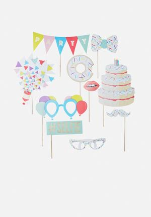 Ginger Ray Photo Booth Props Partyware Paper