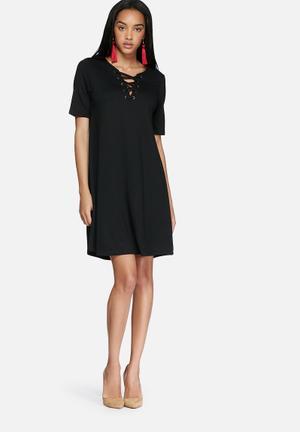 VILA Force Dress Casual Black