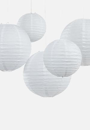 Ginger Ray Paper Lanterns Partyware Paper