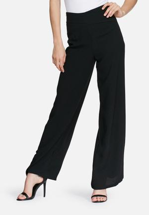 Missguided Wide Leg Trousers Black