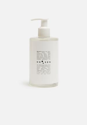 Sixth Floor Onsen Hand Wash Pump Bath Accessories Plastic