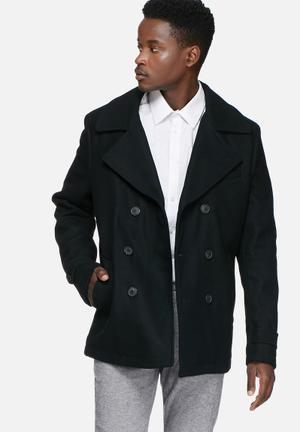 Selected Homme Mercer Coat Black