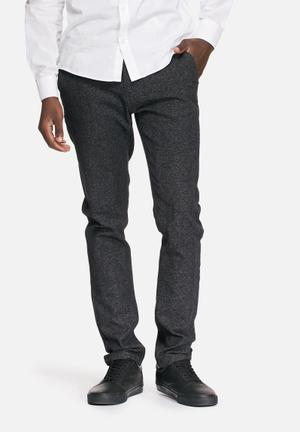 Only & Sons Cent Slim Chinos Charcoal