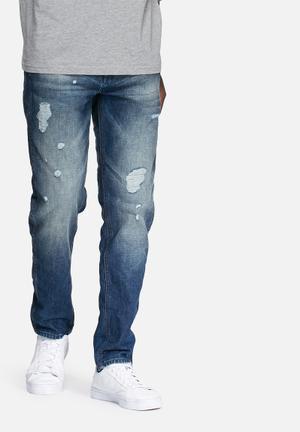 Jack & Jones Jeans Intelligence Eric Anti Fit Thomas Jeans Blue