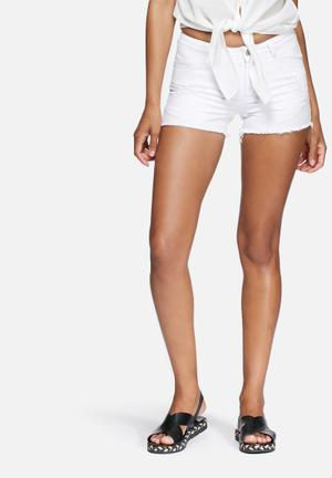 Pieces Just Trish Shorts White